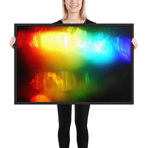 """Framed poster  """"Dimensions""""   DSCN 2362"""