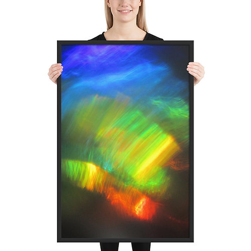 "Framed poster ""Waterdragon 1""   IMG 0157"