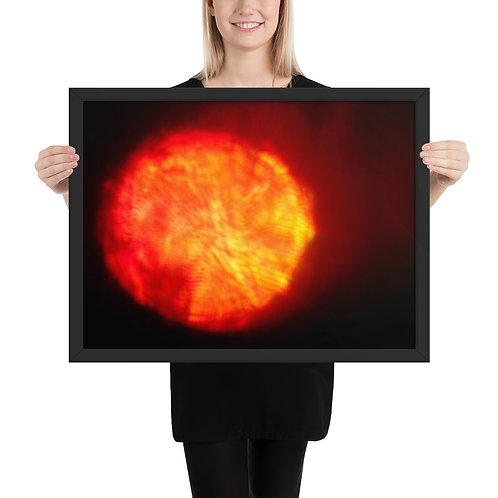 """Framed poster  """"Firewater""""  DSCN 2347"""