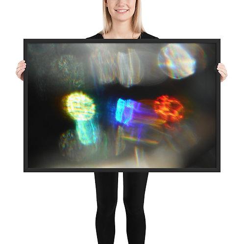 """Framed poster  """"Potentials 1 """"  DSCN 0333"""
