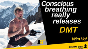 Wim Hof | Conscious breathing really releases DMT!