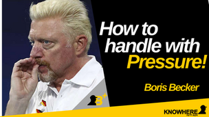 Boris Becker | How to handle with pressure!