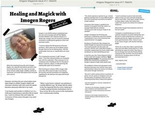 Healing and Magick with Imogen Rogers - Artgaze Magazine