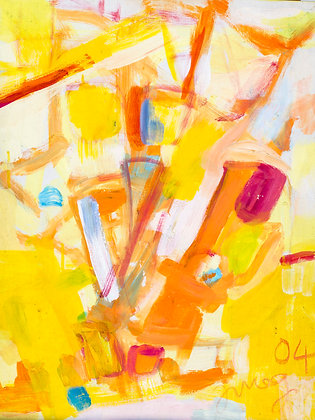 Yellow and Orange by Imogen Rogers