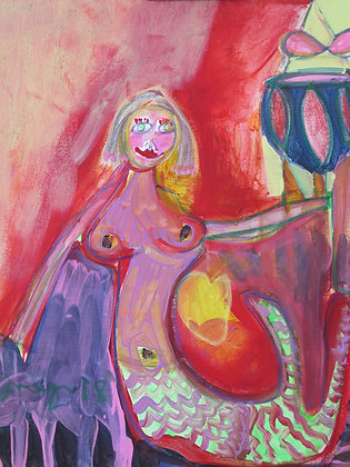 Mermaid Triumphant by Imogen Rogers