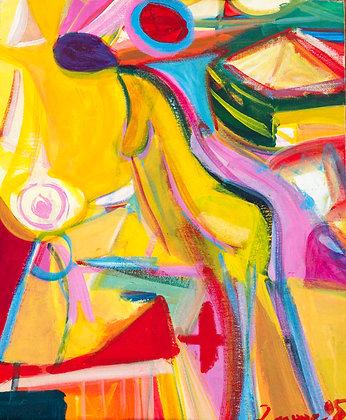 Purple Head by Imogen Rogers