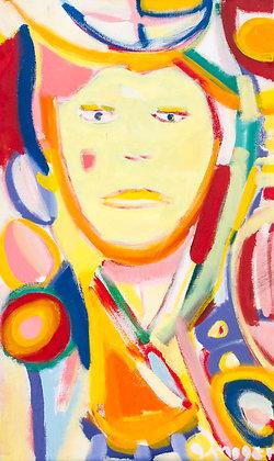 Me (self portrait) by Imogen Rogers