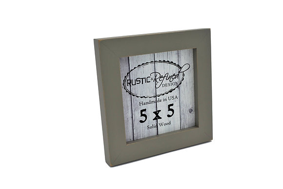 "5x5 1"" Gallery Picture Frame - Grey Green"