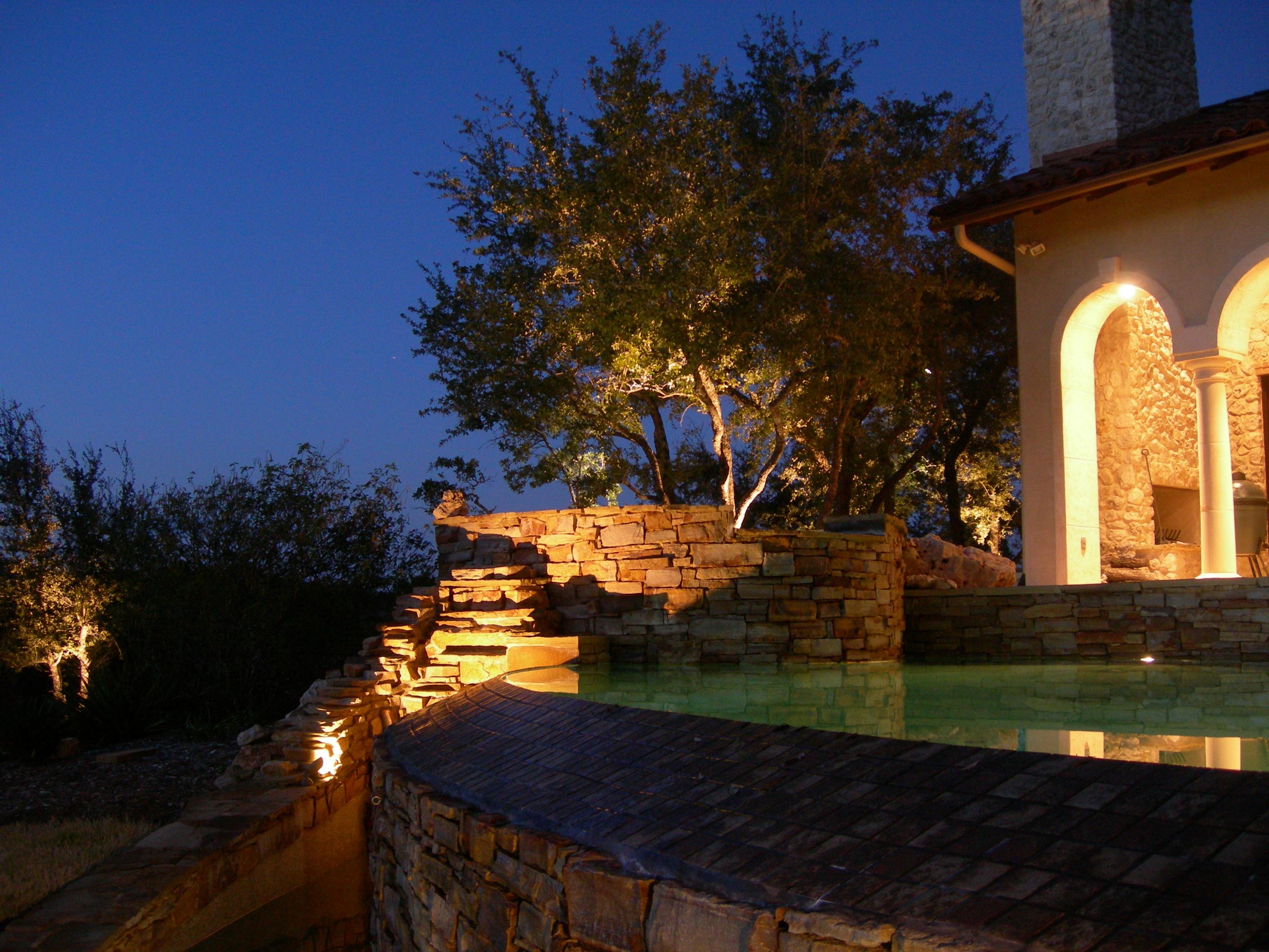 Austin Landscape Lighting Change Time On Timer Lux
