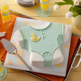 Baby Romper Ducky Cake2