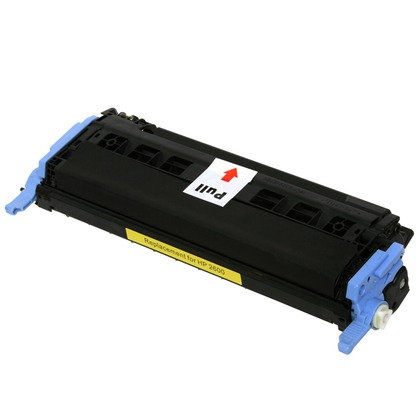 Cartucho Compatível de Toner HP Color LaserJet 2600 Yellow (2K)