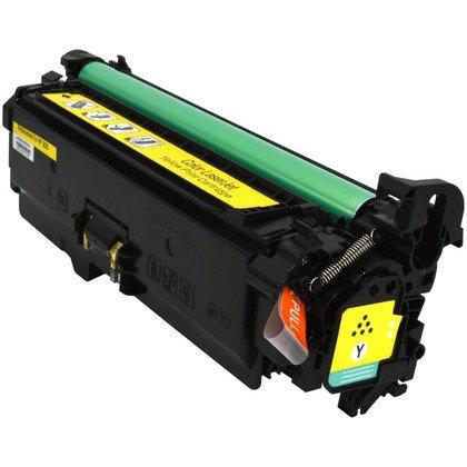 Cartucho Compatível de Toner HP CP3525 M507 551 CE402A / CE252A Yellow (7K)