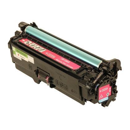 Cartucho Compatível de Toner HP CP3525 M507 551 CE403A / CE253A Magenta (7K)