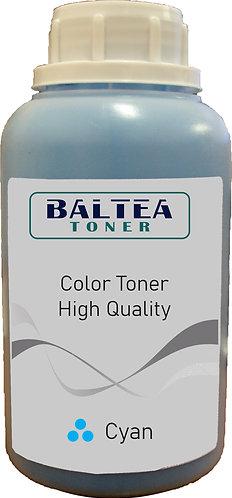 Refil de Toner para uso em Minolta Bizhub C550 Cyan
