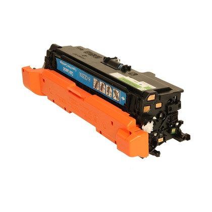 Cartucho Compatível de Toner HP CP3525 M507 551 CE401A / CE251A Cyan (
