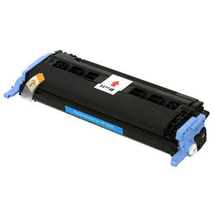 Cartucho Compatível de Toner HP Color LaserJet 2600 Cyan (2K)