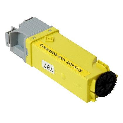 Cartucho Compatível de Toner Xerox Phaser 6125 Yellow (2K)