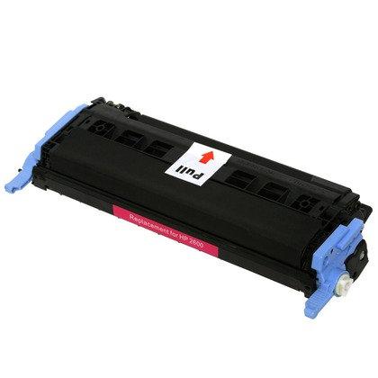 Cartucho Compatível de Toner HP Color LaserJet 2600 Magenta (2K)