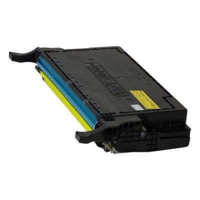Cartucho Compatível de Toner Samsung CLP 620 CLP670 CLT508 Yellow (4K)