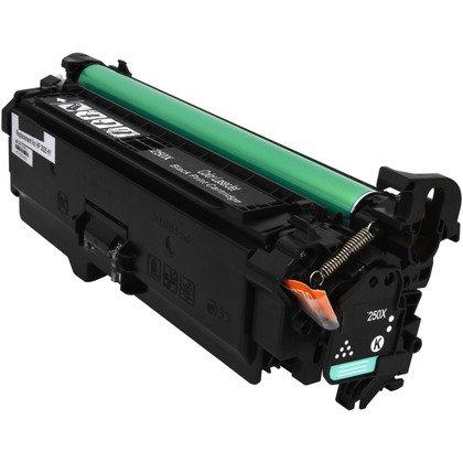 Cartucho Compatível de Toner HP CP3525 M507 551 CE400A / CE250A Black (7K)(1.4K)