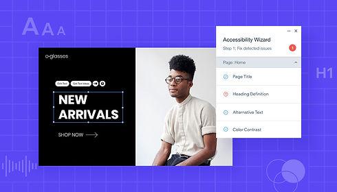 Esteettömät ja saavutettavat Wix-verkkosivut