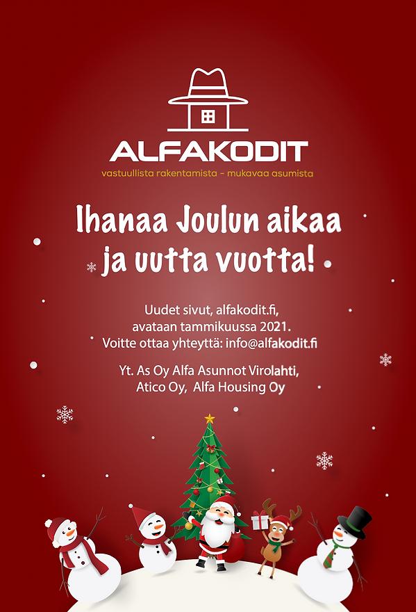 alfakodit joulu
