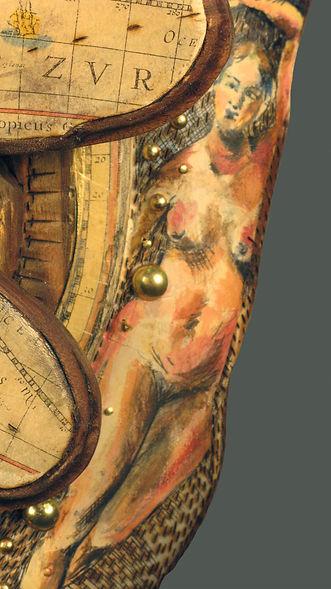 Elizabeth Spotswood Spencer, Elizabeth Spencer, Artist, New Bern, NC, sculpture, North Carolina, Elizabeth Spencer, mixed media, contemporary craft, wood, folk, art, woodcraft, carver, public sculpture, surrealism, figurative, painter,