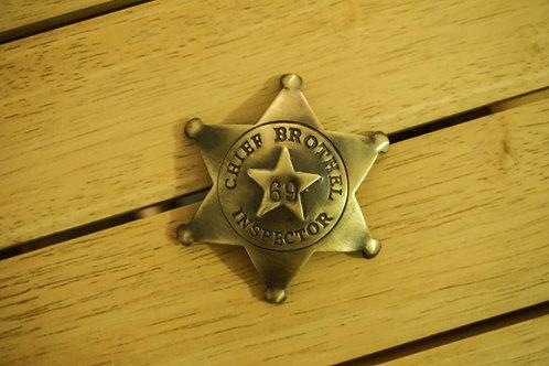 Chief Brothel Inspector Badge