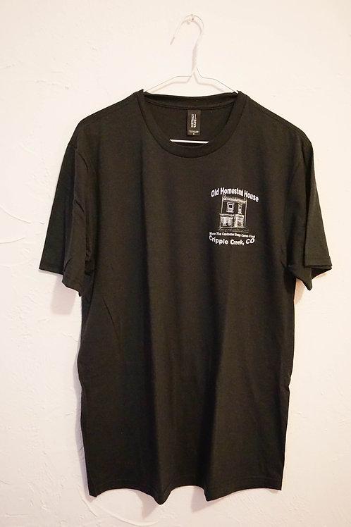 Old Homestead House T-Shirt (Black)