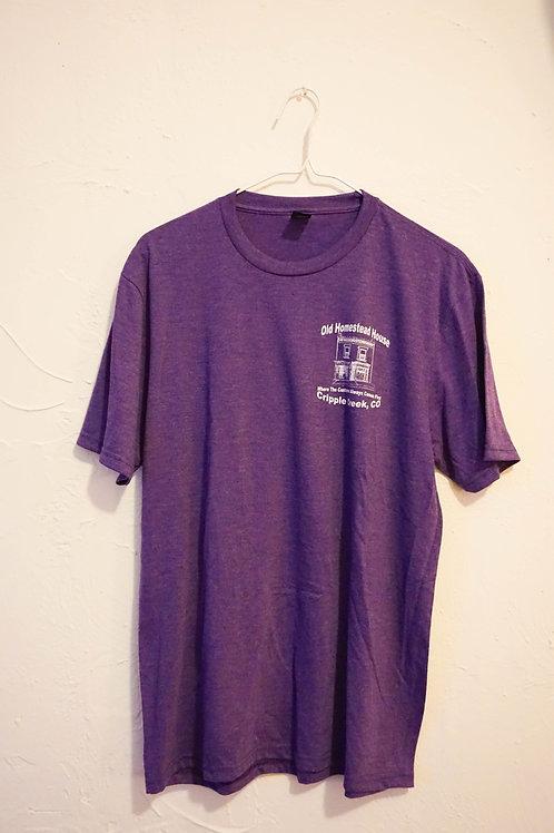 Old Homestead House T-Shirt (Purple)