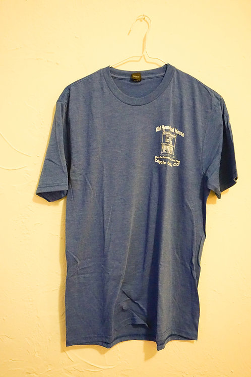 Old Homestead House T-Shirt (Blue)
