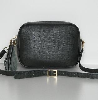 Tassel bag (dark green)