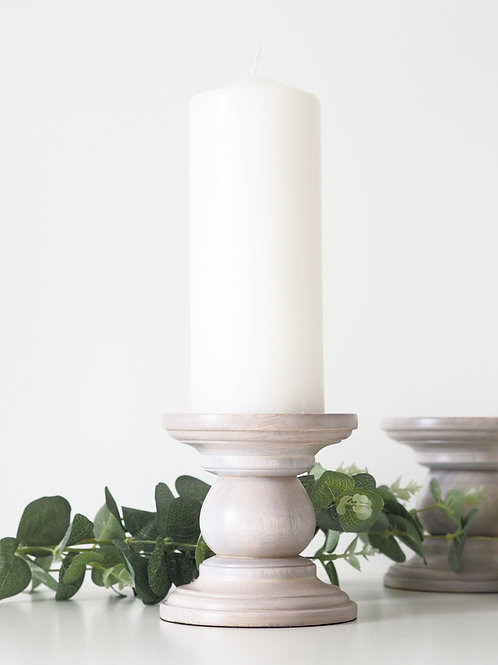 Nomad pillar candle holder