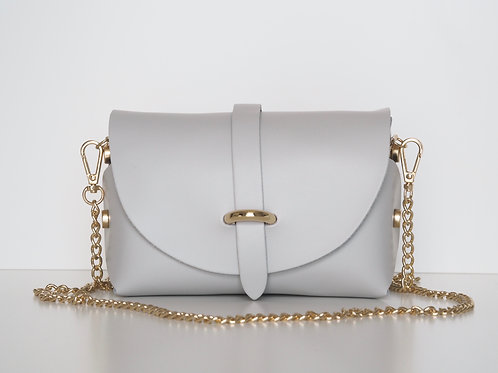 light grey Emily bag front view