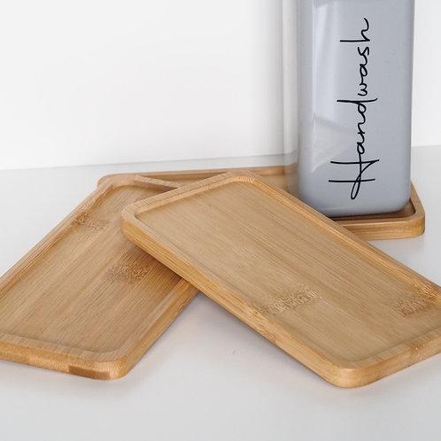 Bamboo bottle tray