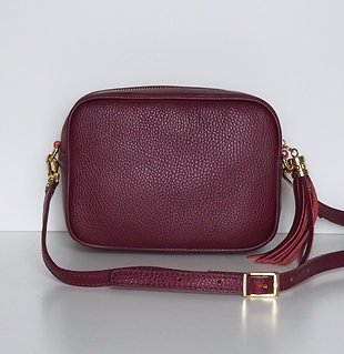 Tassel bag (plum)