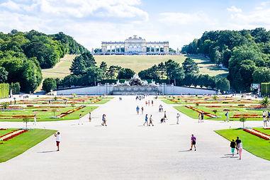 Canva - Schonbrunn Palace Garden in Vien