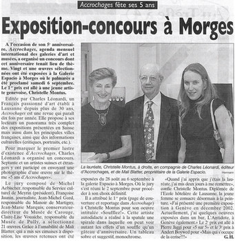 Journal de Morges 2003