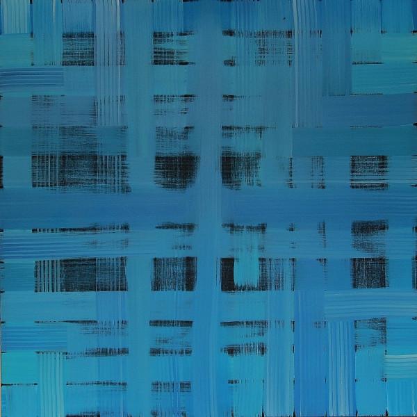 Manhattan in blue