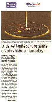 Tribune de Genève 2007