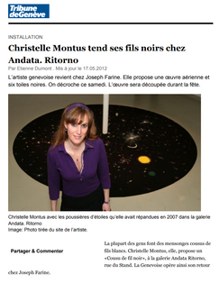 Tribune de Genève 2012