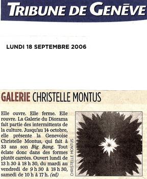 Tribune de Genève 2006