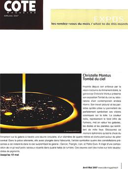 Cote Magazine 2007