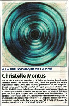 Tribune de Genève 2004