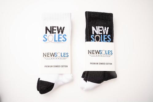 New Soles, Inc. Premium Combed Cotton Sock Collection