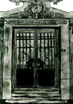 apartman giriş kapısı,güneydoğu yönü