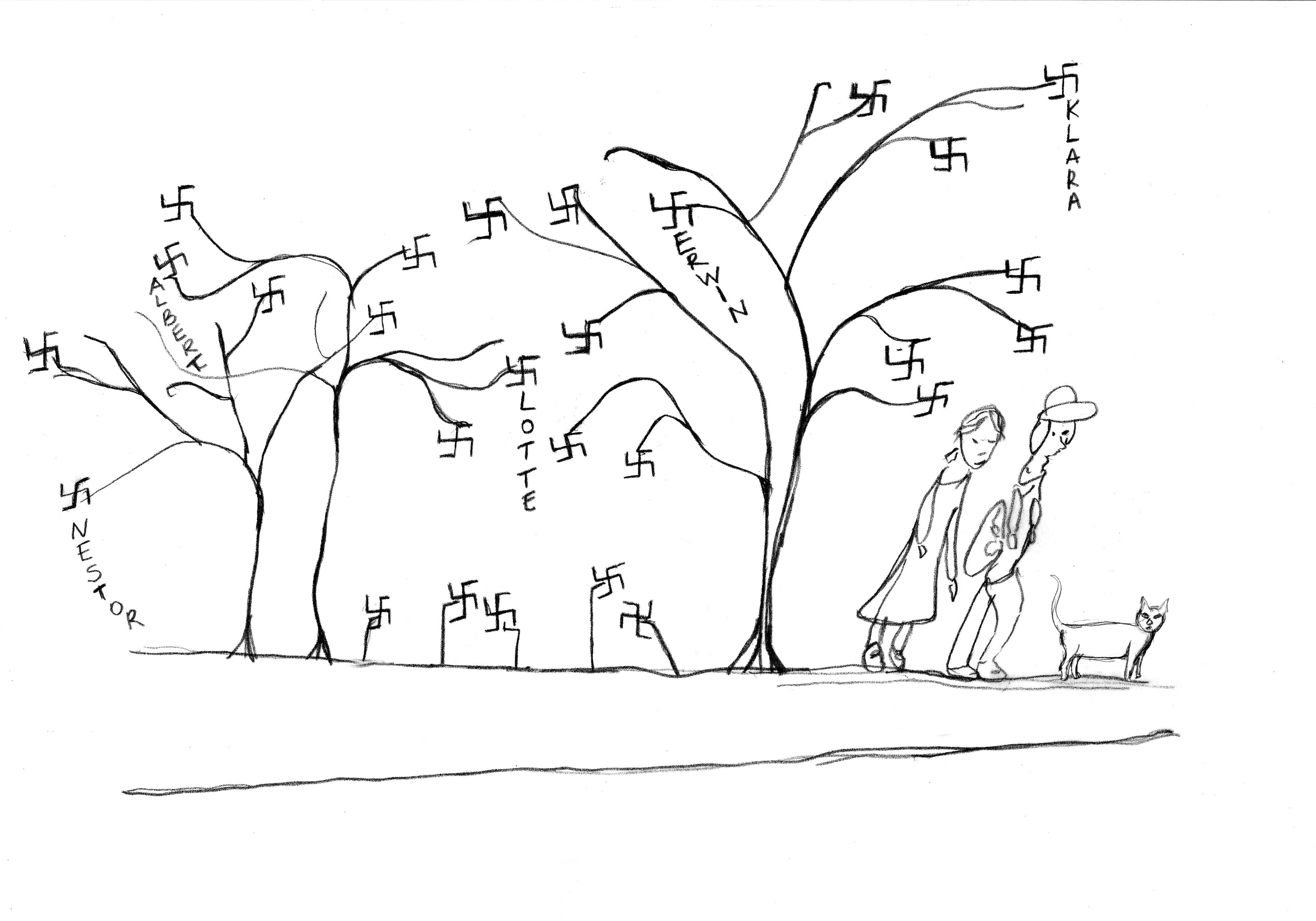 10. Lotte'nin karta çizdiği resim