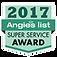 Angieslist 2017 Super Service Award