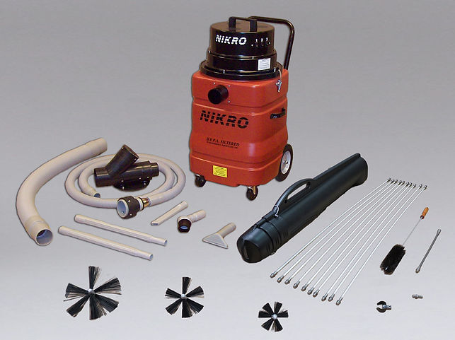 Nikro dryer vent cleaning system