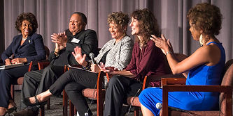 DGA Premiere of John Lewis: Get in the Way, Maxine Waters, Charles Floyd Johnson, Peggy Preacely, Kathleen Dowdey, Donna Brown Guillaume